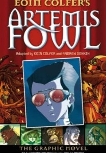 Cover of Artemis Fowl: The Graphic Novel